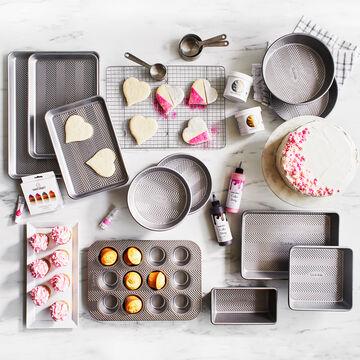 Sur La Table Silver Classic Muffin Tin, 12 Count