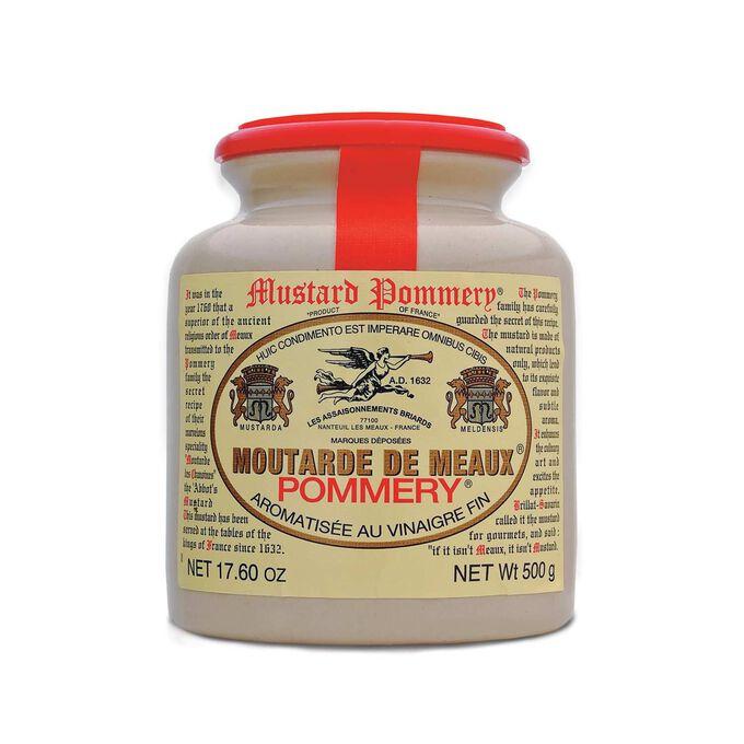 Pommery Meaux Grain Mustard in Stoneware Crock