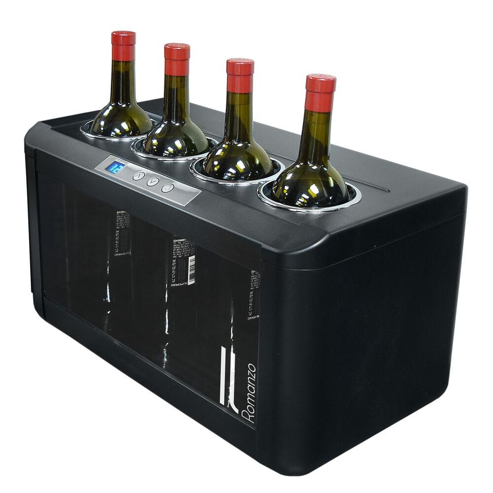 Vinotemp Il Romanzo 4-Bottle Open Wine Cooler