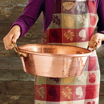 Mauviel M'passion Copper Preserving Pan