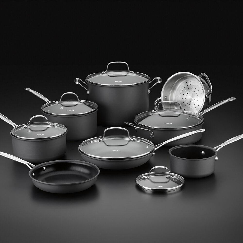 Cuisinart Chef's Classic Nonstick Hard-Anodized 14-Piece Cookware Set