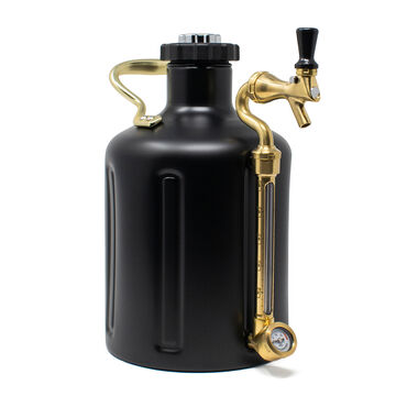 uKeg Stainless Steel Growler by GrowlerWerks, 128-oz.