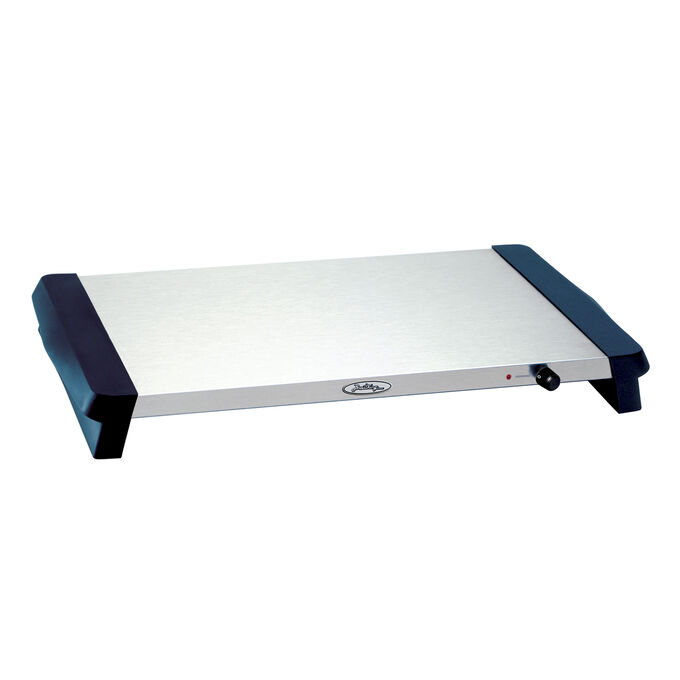 "Stainless Steel Warming Tray, 21½"" x 14"""