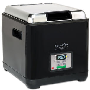 SousVide Supreme Demi Water Oven with Vacuum Sealer, Black