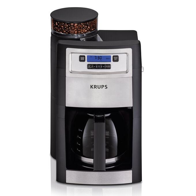 Krups Grind & Brew Coffeemaker, 10 cup