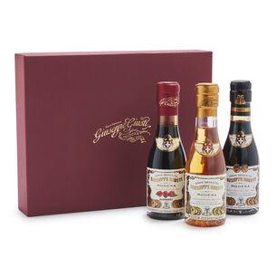 Giuseppe Giusti Balsamic Vinegar 3-Piece Gift Set