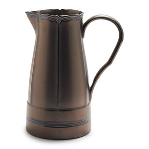 Baroque Pewter Pitcher