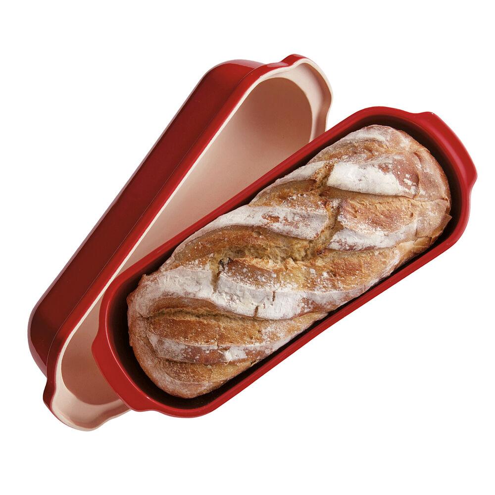 Emile Henry Burgundy Italian Bread Baker