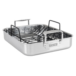 Viking Stainless Steel Roasting Pan with Rack
