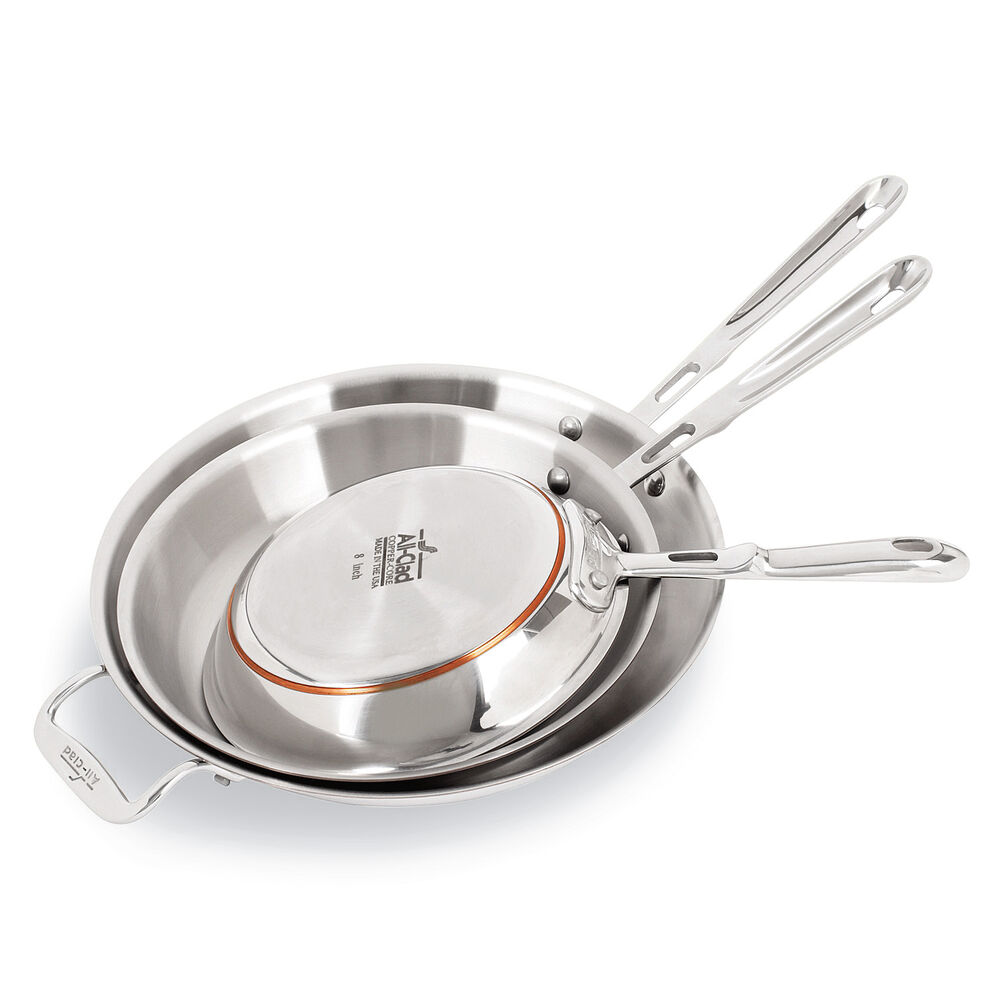 All-Clad Copper Core Skillets