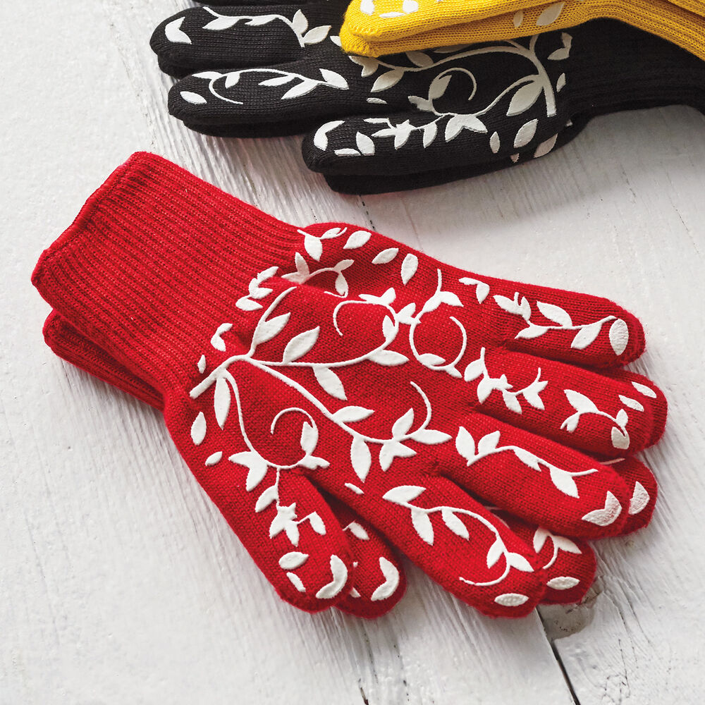Floral Vine Small Oven Gloves, Set of 2