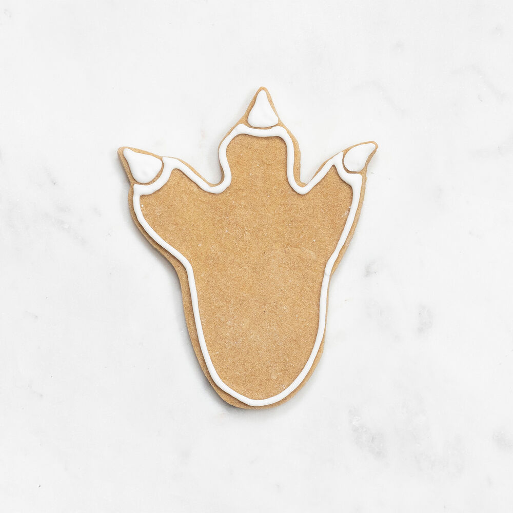 """Dino Foot Cookie Cutter, 3.75"""""""