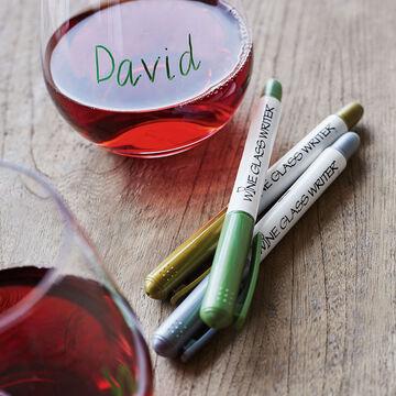 Wine Glass Writers, Set of 3