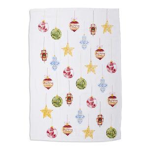 "Ornaments Flour Sack Kitchen Towel, 30"" x 20"""