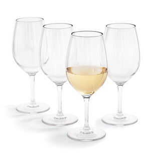 Acrylic Wine Glasses, Set of 4