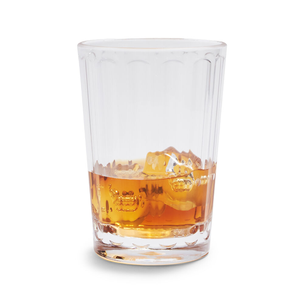 Paneled Double Old-Fashioned Glass