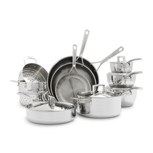 La Marque 84 15-Piece Stainless Steel Cookware Set