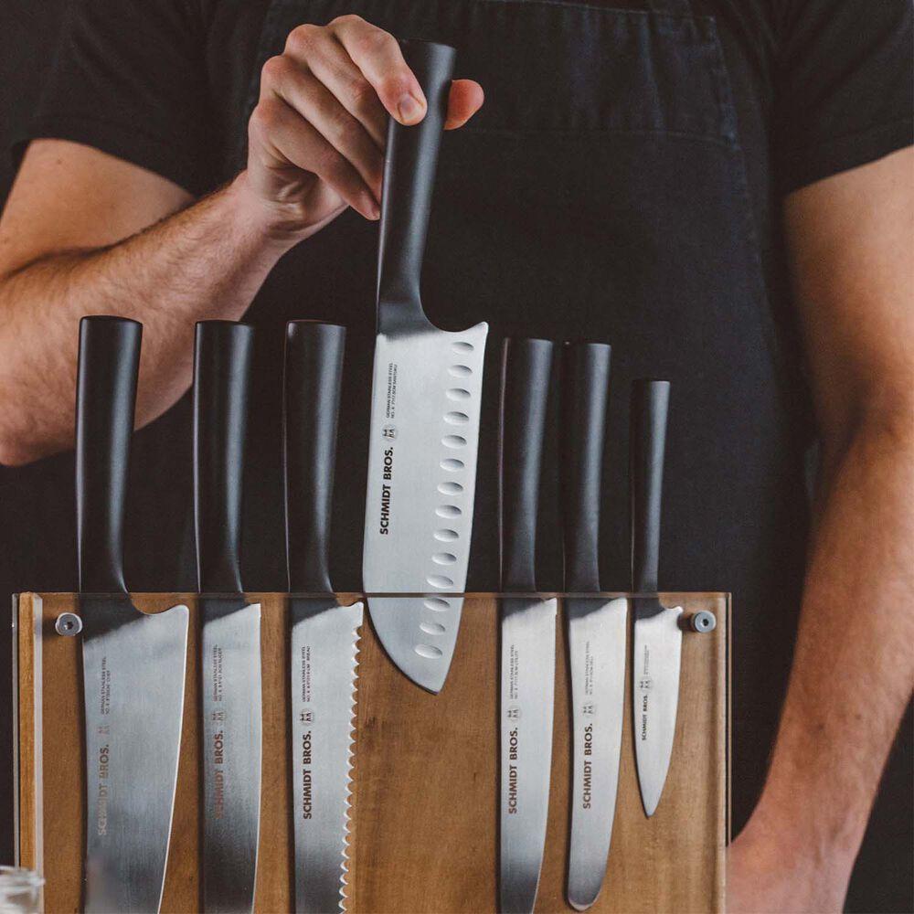 Schmidt Brothers Cutlery Carbon 6 15-Piece Knife Block Set