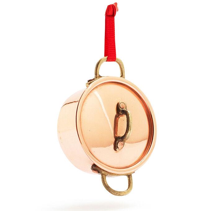 Copper Stockpot Ornament