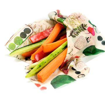 Z Wraps Farmer's Market Reusable Beeswax Wrap
