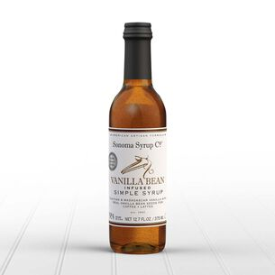 Sonoma Syrup No. 4 Vanilla Bean-Infused Simple Syrup