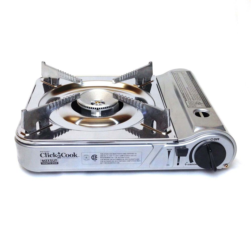 Click2Cook Stainless Portable Stove