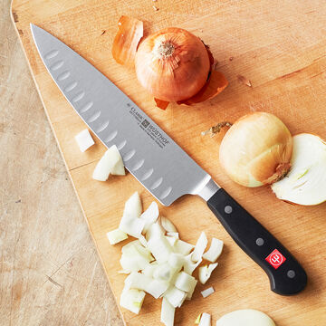 Wüsthof Classic Hollow-Ground Demi-Bolster Chef's Knife, 8""