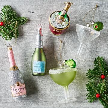 Margarita Glass Ornament