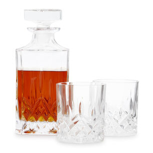 Viski Admiral 3-Pc Decanter Set
