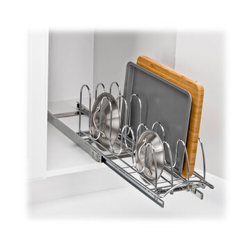 """Lynk Professional Roll-Out Lid Holder, 7.25"""" x 21"""" x 9"""""""