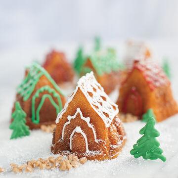 Nordic Ware Cozy Village Cakelet Pan