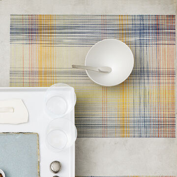 Chilewich Plaid Sorbet Placemat
