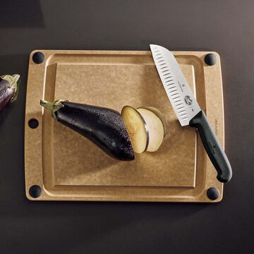 """Victorinox Fibrox Pro Granton-Edge Santoku Knife, 7"""""""