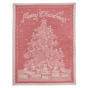 Merry Christmas Jacquard Towel