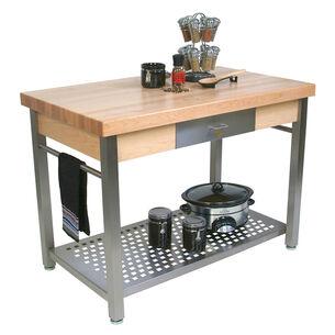 """John Boos & Co. Cucina Grande Table, 60"""" x 36"""""""