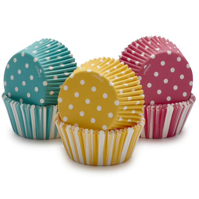 Wilton Dots & Stripes Bake Cups, 150 Count