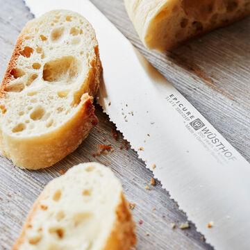 """Wüsthof Epicure Slate Double-Serrated Bread Knife, 9"""""""
