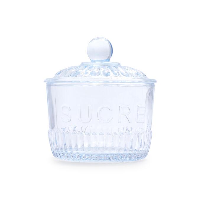 Sucre Glass Sugar Bowl