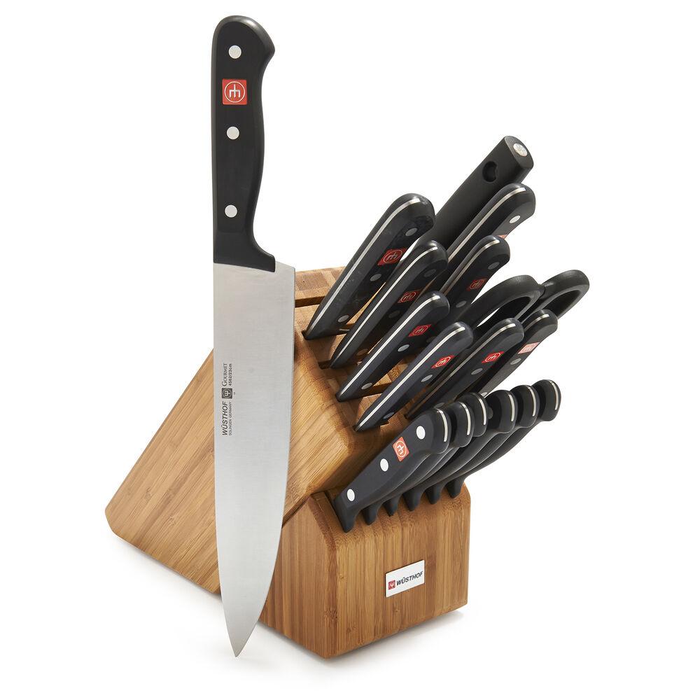 Wüsthof Gourmet 18-Piece Knife Block Set