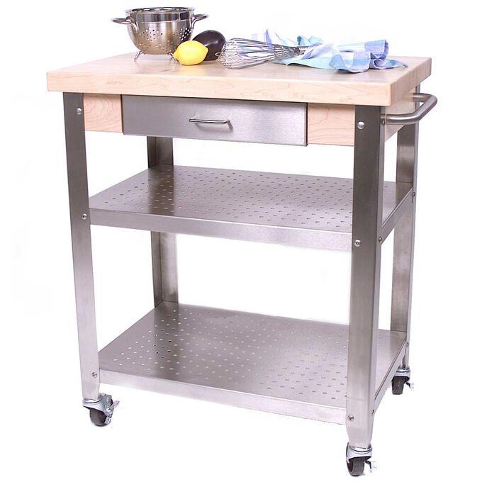 """John Boos & Co. Cucina Cart, 30"""" x 20"""""""