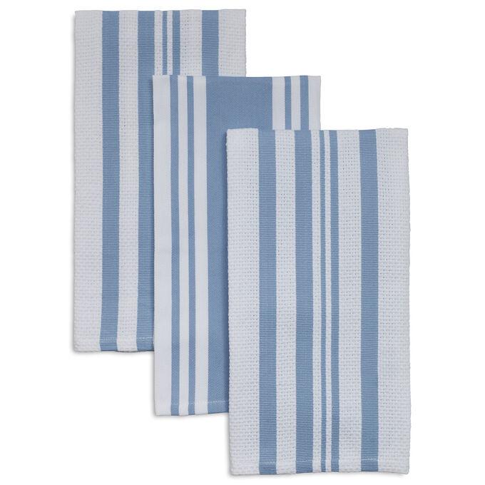 "Striped Kitchen Towels, 28"" x 20"", Set of 3"