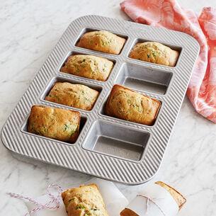 Sur La Table Platinum Professional Mini Loaf Pan, 8 Count