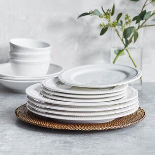 Pearl Melamine Salad Plates, Set of 4