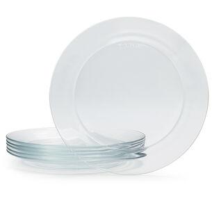 Duralex Lys Dinner Plate, Set of 6
