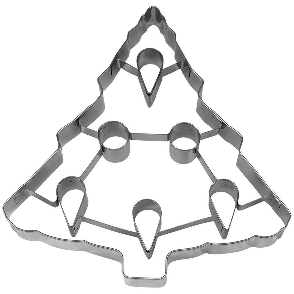 """Large Christmas Tree Cookie Cutter, 7.5"""""""