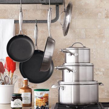 Scanpan® CTX 10-Piece Nonstick Cookware Set