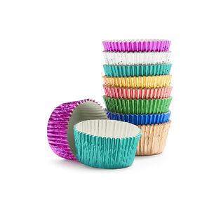 Meri Meri Metallic Cupcake Liners, Set of 100