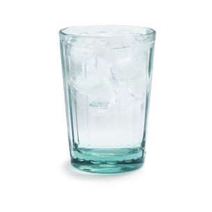 Paneled Acrylic Highball Glass