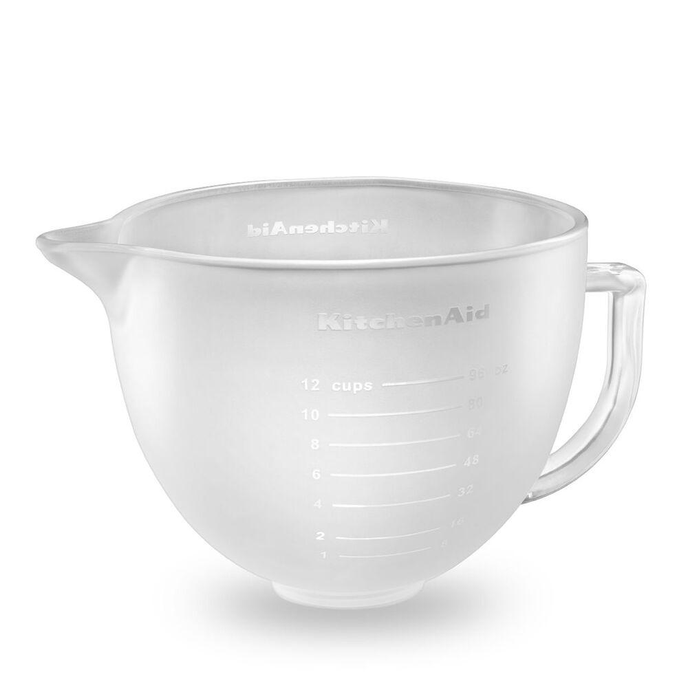 KitchenAid® Frosted Glass Bowl, 5 qt.