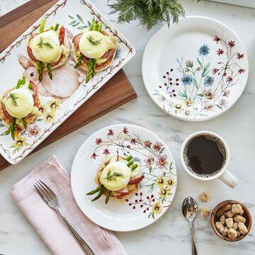 Wildflower Salad Plate